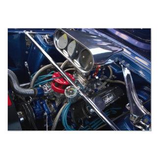 Beautiful Car Engine Invitation