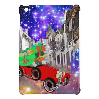 Beautiful car plenty of gifts under starry night iPad mini case