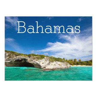 Beautiful Caribbean coast Card