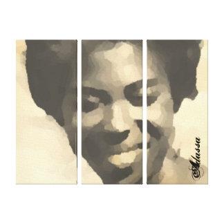 Beautiful Caribean Queen (Jamaican) Adassa Grange Canvas Print