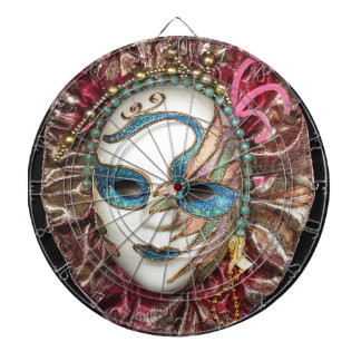 Beautiful Carnival Mask Dart Boards