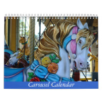 Beautiful Carousel Animal Photos Calendar