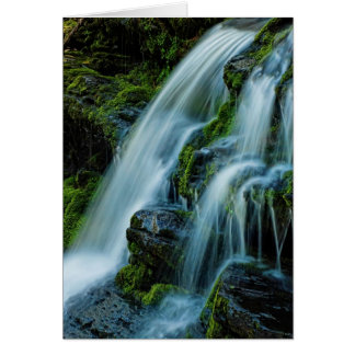 Beautiful Cascade Waterfall Card