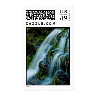 Beautiful Cascade Waterfall Postage