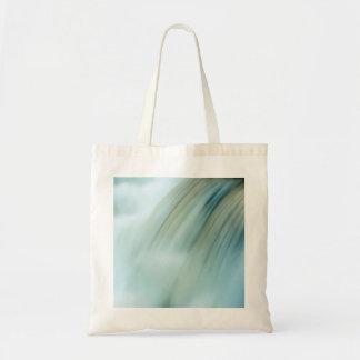 Beautiful Cascade Waterfall Totebag Budget Tote Bag