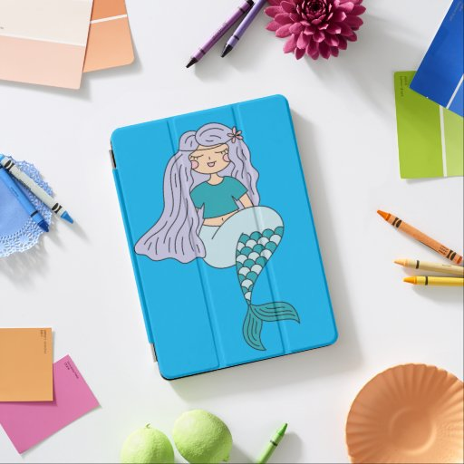 Beautiful case for Ipad mermaid