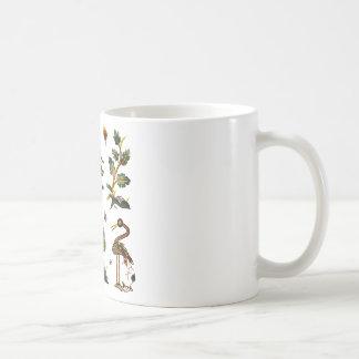 Beautiful Castlemaine Jacobean Embroidery Coffee Mug