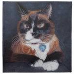 Beautiful Cat Cloth Napkin