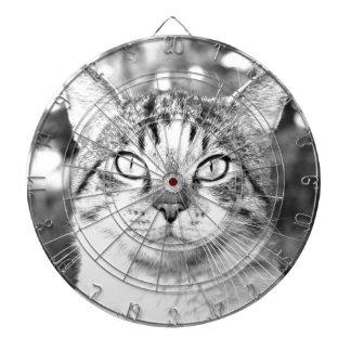 Beautiful Cat Dart Board