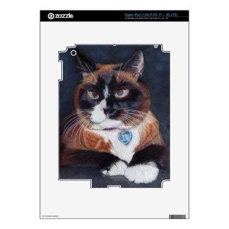 Beautiful Cat iPad 3 Skin