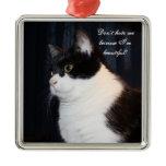 Beautiful Cat Ornament