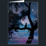 """Beautiful Cat Poem Sympathy Card<br><div class=""""desc"""">A spiritual type poem for the cat owner when they suffer the loss of their cat.  Very meaningful and a way to show that you care and know they are hurting.</div>"""