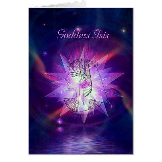 Beautiful Celestial Goddess Isis! Card