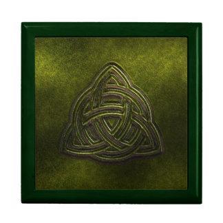 Beautiful Celtic Jewellery Box Keepsake Box