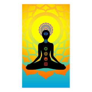 beautiful chakras Double-Sided standard business cards (Pack of 100)