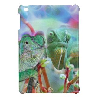Beautiful chameleons iPad mini case