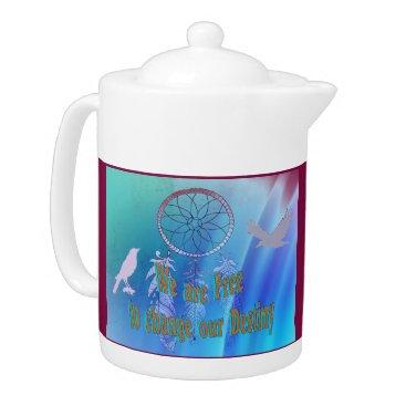 Professional Business Beautiful Change Destiny Tea Pot