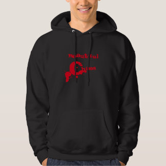 Beautiful Chaos Cool Font Hooded Pullover
