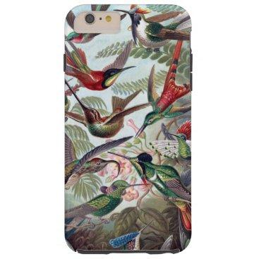 Beautiful charming colorful hummingbird tough iPhone 6 plus case