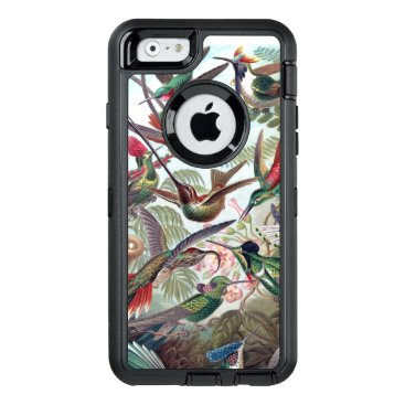 Beautiful charming colorful hummingbird OtterBox defender iPhone case