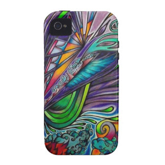Beautiful Chasm Vibe iPhone 4 Cases