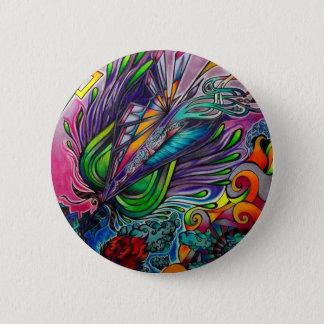 Beautiful Chasm Pinback Button