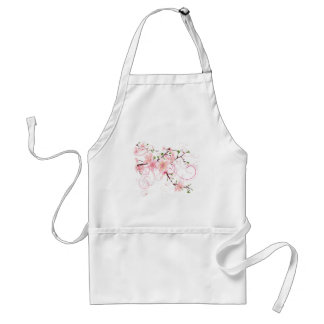 Beautiful Cherry Blossoms Adult Apron