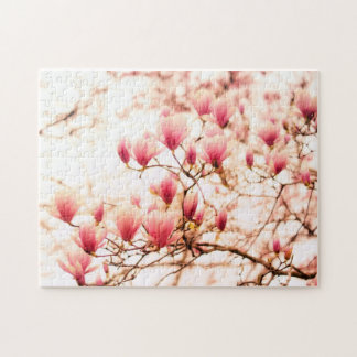 Beautiful Cherry Blossoms - Central Park Jigsaw Puzzle