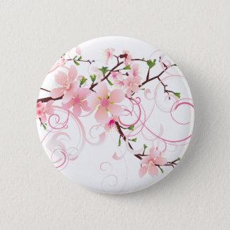 Beautiful Cherry Blossoms Pinback Button
