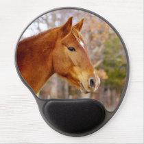 Beautiful Chestnut Horse Gel Mousepads
