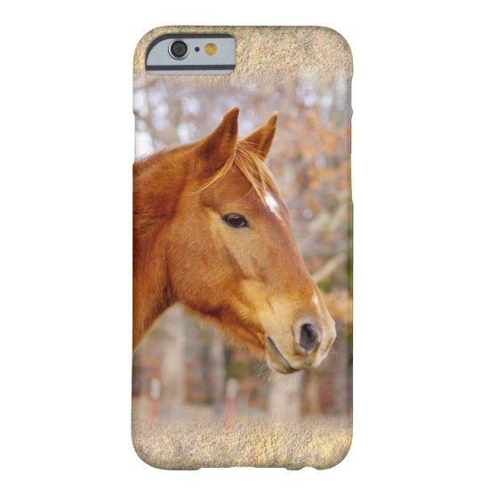 Beautiful Chestnut Horse iPhone 6/6s Case