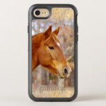 "Beautiful Chestnut Horse iPhone 6/6s Otterbox<br><div class=""desc"">Our Beautiful Chestnut Horse Apple iPhone 6/6s Otterbox have a gold glitter boarder on top and bottom. The photo is a beautiful portrait of our colorful chestnut horse. His name is Ike and he is so cool! Horses are such magnificent animals and our iphone 6 would make great animal or...</div>"