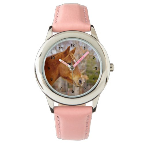 Beautiful Chestnut Horse Watch