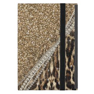 Beautiful Chic Girly Leopard Animal Faux Fur Print Ipad Mini Case at Zazzle