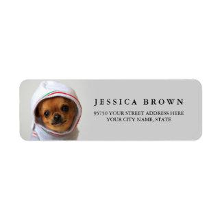 Beautiful Chihuahua custom return address label