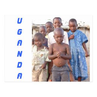 Beautiful children postcard