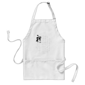 Beautiful Chinese Calligraphy - Gifts Apron