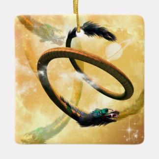 Beautiful Chinese dragon Ceramic Ornament