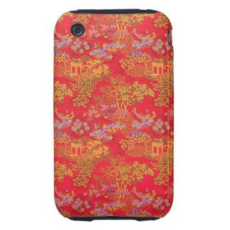 Beautiful Chinese Pattern Background iPhone case