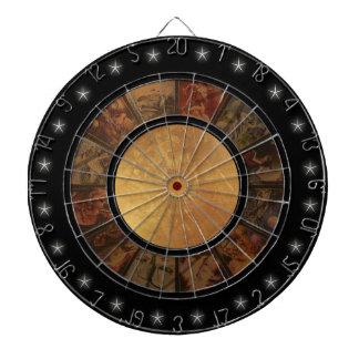 Beautiful Chinese Zodiac 2 Wheel Custom Dart Board
