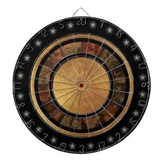Beautiful Chinese Zodiac Wheel Custom Dart Board