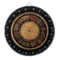Beautiful Chinese Zodiac Wheel Dartboards
