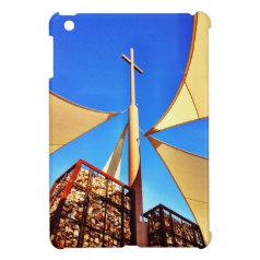 Beautiful Christian Church Cross Blue Sky iPad Mini Case