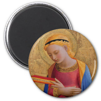 Beautiful Christian Vintage Angel Holy Book Magnet