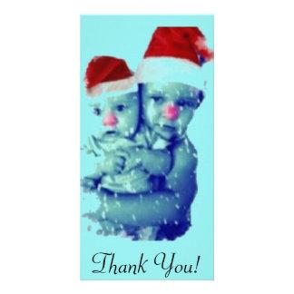 Beautiful Christmas Babies Card