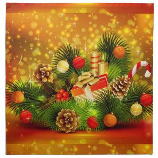 Beautiful Christmas Cloth Napkins