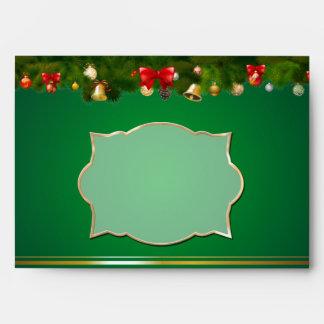 Beautiful Christmas Decor Envelope