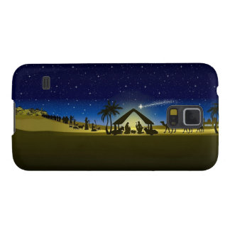 beautiful Christmas nativity image print Case For Galaxy S5