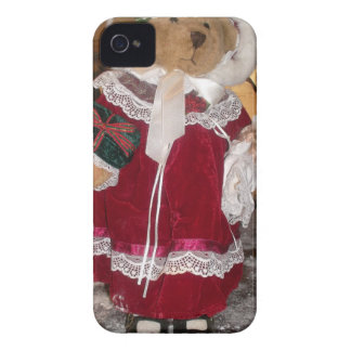 Beautiful Christmas with Love Have a Nice Day and  Case-Mate iPhone 4 Case