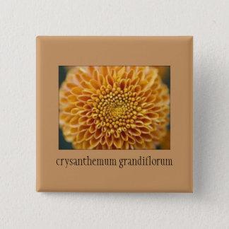 Beautiful Chrysanthemum Floral Button